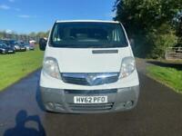 2012 Vauxhall Vivaro 2900 CDTI PV Panel Van Diesel Manual