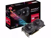 2 x sealed Asus AMD ROG STRIX RX 570 4GB Gaming Graphics Card ROG-STRIX-RX570-4G-GAMING