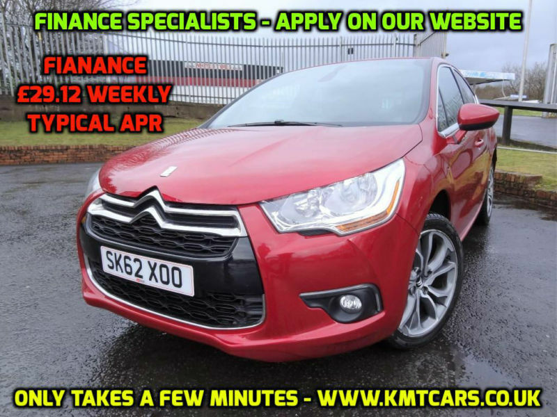 2012 Citroen Ds4 16e Hdi 110bhp Airdream Egs6 Dstyle Full