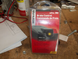 Hopkins trailer brake control