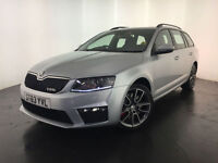 2013 63 SKODA OCTAVIA VRS TDI AUTO ESTATE 1 OWNER SERVICE HISTORY FINANCE PX
