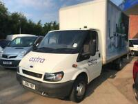 Ford Transit 2.4TDI ( 135PS ) 6 SPEED LUTON TAIL LIFT Extended 350 LWB *NO VAT*