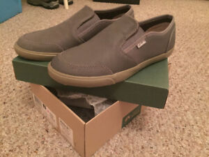 NEW CLARKS Leather shoes-Men