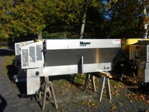 OCTOBER SPECIAL - Meyer 6 ft 1.5 yard Stainless Steel Sander