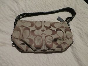 Brown Coach purse for sale