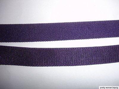 10m Gummiband 0,28€/m violett 12mm breit A60