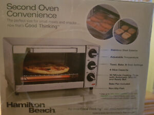 Never used toaster oven for sale
