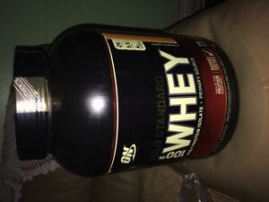 Whey proteins gold standard