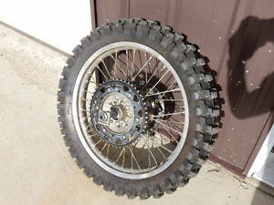 rear wheel assembly for YZ 250 new Kenda Millarville 2 tire