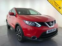 2015 NISSAN QASHQAI TEKNA DCI DIESEL HEATED SEATS 1 OWNER SERVICE HISTORY