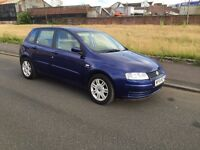 54 REG FIAT STILLO 1.6 FSH MOT 1 YEAR astra focus golf civic megane peugeot 307