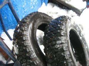 2X 14 inch WINTER TIRES YOKOHAMA great thread