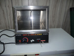 hot and delicious hot dog machine