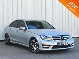 Mercedes-Benz C250 2.1CDI ( 201bhp ) Blue F ( COM ) 7G-Tronic Plus 2013MY CDI