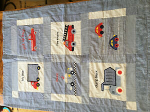 Truck-themed Boys quilt