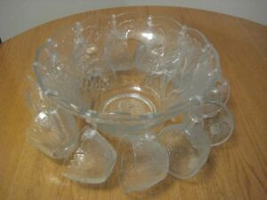 Punch Bowl Set