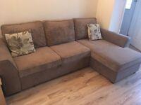 Corner Sofa Bed (with storage)
