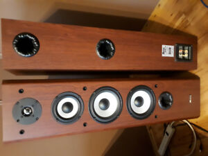 -AXIOM SPEAKERS, - BLUE RAY, - DVD PLAYER