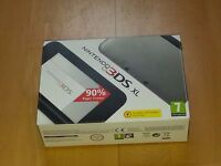 3d DS XL with box, instructions and charger
