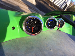 Triple Pillar pod gauge for Civic 1995