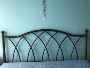 Wrought iron Queen size head board