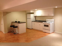 BRIGHT 1 BEDROOM BASEMENT APARTMENT – AVAILABLE NOVEMBER 1ST