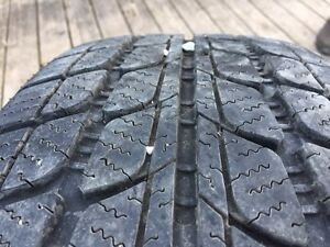 4 winter tires on rims Kitchener / Waterloo Kitchener Area image 3