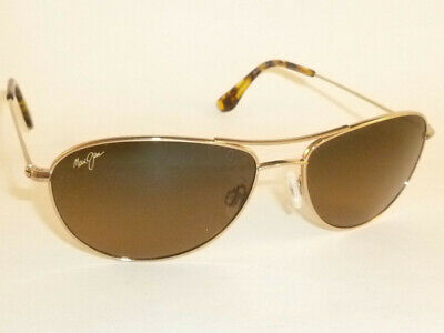 New Authentic Polarized  MAUI JIM BABY BEACH  Sunglasses  HS245-16 Bronze (Maui Jim Beach Sunglasses)