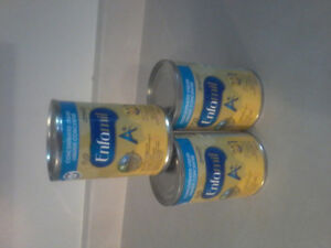 3x385 ml cans of enfamil A+