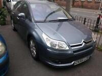 Citroen C4 2.0HDi Exclusive. SIX STAMPS. PART EX TO CLEAR.