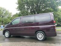 2009 Nissan Elgrand 2.5 Auto 4X4 Double Power Doors Electric Curtains 4x4 Petrol
