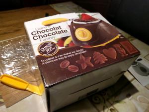 Petit appareil pour faire chocolat