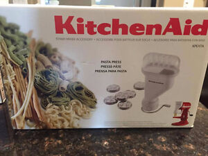 New KitchenAid Gourmet Pasta Press