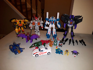 Transformers action figures