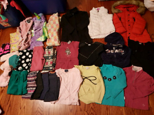 Girl 4T-5Twinter cloths lot