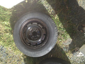 Set of 2 - metal rims  - $30.