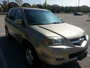 2005 Acura MDX SUV, Leather, Heated, 7 seats AWD Reliable Family