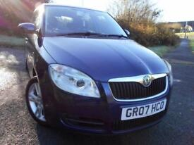 2007 07 SKODA FABIA 1.2 LEVEL 2 HTP 5D 68 BHP ** 1 PREVIOUS OWNER CAR , ONLY 58