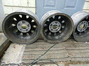 4 honey comb trans am rims 15""
