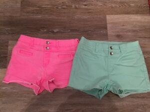 SZ 16 GIRLS JUSTICE SHORTS-$15 TAKES BOTH PAIRS