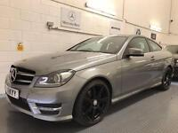 2012 Mercedes-Benz C Class 2.1 C220 CDI BlueEFFICIENCY AMG Sport Coupe 2dr