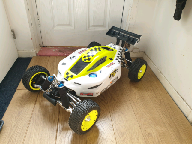 KM X2 Buggy 32cc  Upgraded Area Rc  GTB  1-5 Scale Petrol Rc Car Truck | in  Leicester, Leicestershire | Gumtree