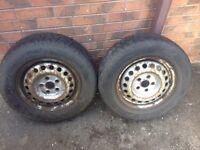 Vw transporter t4 winter snow tyres