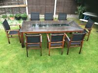 Garden 8 seater table set