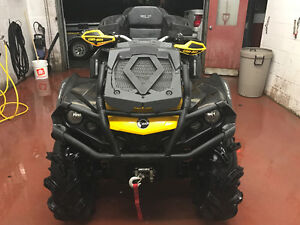 LIKE NEW 2015 CAN-AM OUTLANDER XMR 1000 2 UP