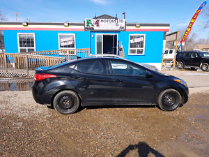 price reduced 2013 ELANTRA 2.O L ONLY 84565 KM