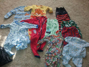 40 BABY BOY CLOTHES - SIZE 24 MONTHS AND 2T