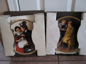 NORMAN ROCKWELL COLLECTOR PLATES Windsor Region Ontario image 3