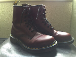 Get festive with Beautiful Red Doc Martens! (Women's Size 8)