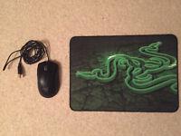 Razer Mouse & Mousemat